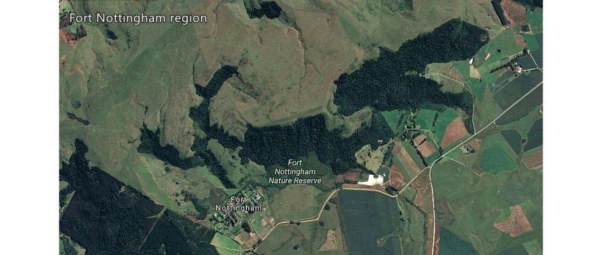 Fort Nottingham map