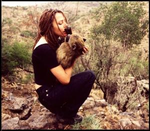 baboon rehabilitation, baboons, Karin Saks, samango monkey,midlands, kwazulu natal, cercopithecus labiatus, samango safari, airbnb experience,
